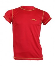 TECHNICAL T-SHIRT PADEL SESSION RED YELLOW