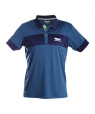 POLO SHIRT WINGPADEL THEO NAVY BLUE