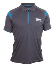 POLO SHIRT WINGPADEL MIPER GREY AND BLUE