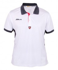 POLO SHIRT SIUX SOSTER WHITE GREY