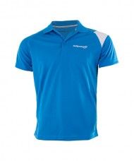 POLO SHIRT BULLPADEL VINCE CYAN