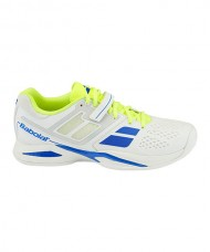 PADEL SHOES BABOLAT PROPULSE CLAY WHITE BLUE