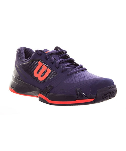 WILSON RUSH  PRO 2.5 PRUPLE AND BLACK PADEL SHOES