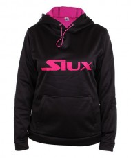 SOFTSHELL SIUX SILS WOMAN BLACK FUCHSIA