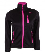 SOFTSHELL SIUX LAUREZ WOMAN BLACK FUCHSIA