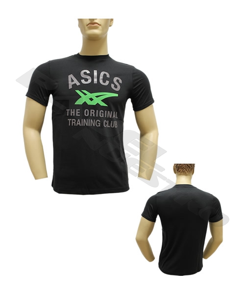 7841c20c Camiseta Asics Stripes Tee Negra - Calidad Asics, envio en 24 horas