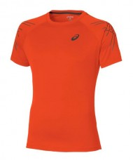 T-SHIRT ASICS SS STRIPE ORANGE