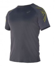 T-SHIRT ASICS SS STRIPE BLACK