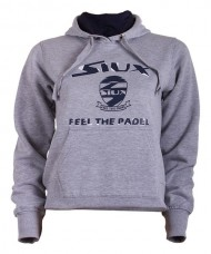 HOODIE SIUX LIMITED WOMAN GREY
