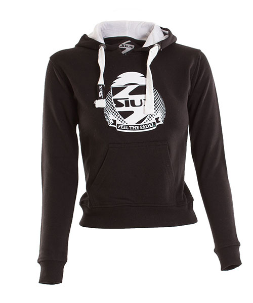 SWEATSHIRT SIUX BELICE WOMAN BLACK