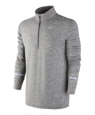 SUDADERA NIKE ELEMENT GRIS 683485 021