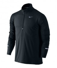 NIKE ELEMENT BLACK SWEATSHIRT 683485 010