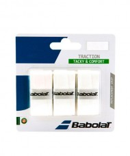 OVERGRIP BABOLAT TRACTION BLANCO
