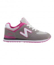 SNEAKERS WOMAN SIUX TSUNAMI GREY PINK