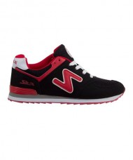 SNEAKERS SIUX TSUNAMI BLACK RED