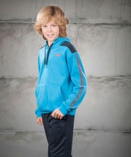 SUDADERA JOHN SMITH VELASCO JUNIOR TURQUESA
