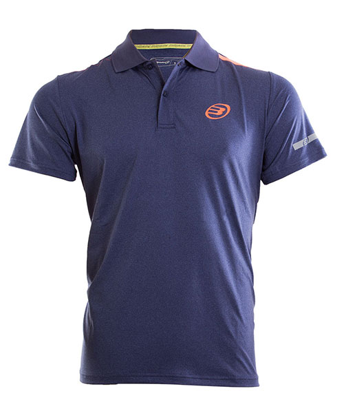 POLO SHIRT BULLPADEL VENETO NIGHT BLUE