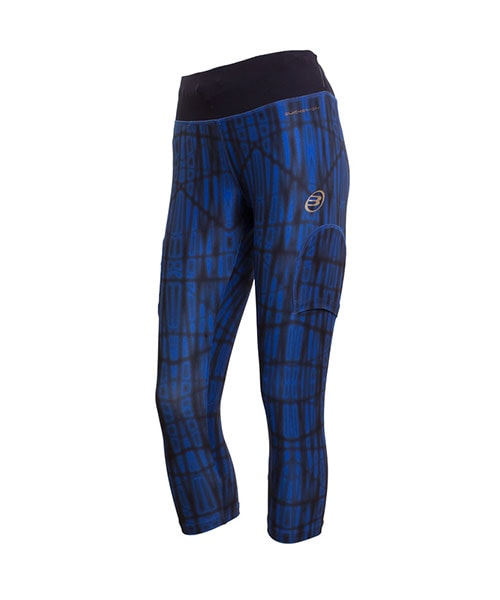 LEGGINGS BULLPADEL VERCURA PRINTED NAVY BLUE