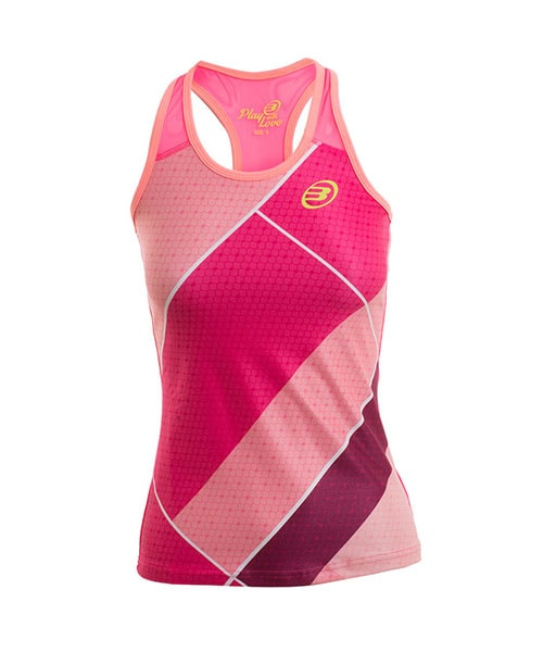 TOP BULLPADEL ROSA PINK FLUOR