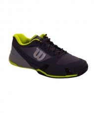 PADEL SHOES WILSON RUSH PRO 2.5 EBONY MONUMENT LIME