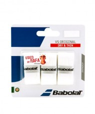 OVERGRIP BABOLAT VS ORIGINAL BLANCO