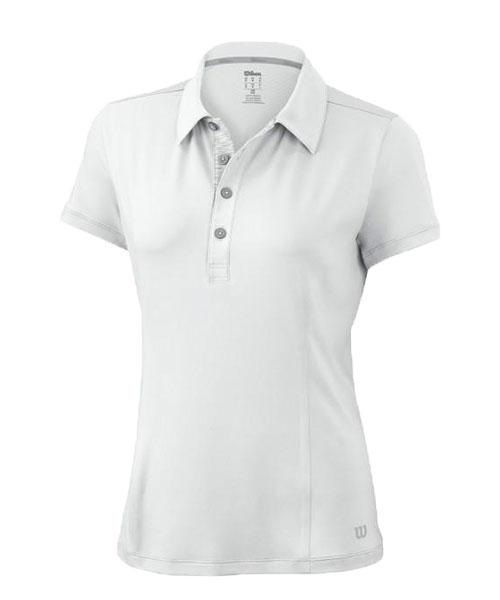 05dd34a0dfb Polo Wilson Classic blanco mujer   Diseño, calidad y precio.