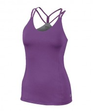 T-SHIRT WILSON DOUBLE STRAP TANK PURPLE