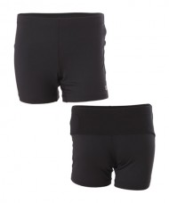 WILSON COMPRESSION BLACK SHORTS