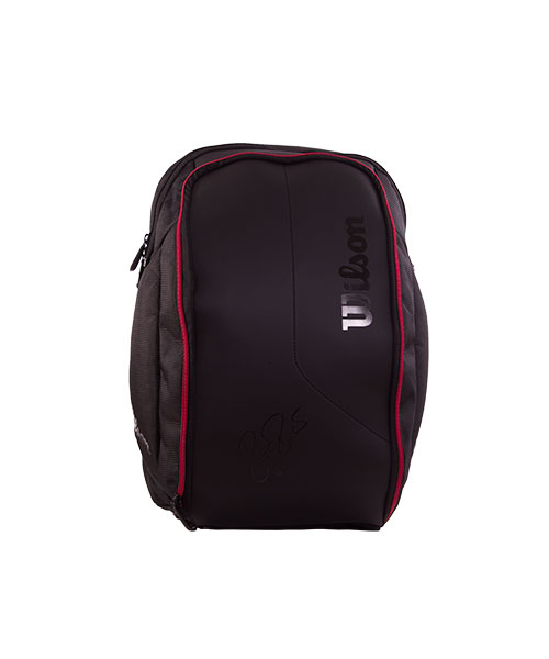 MOCHILA WILSON FEDERER DNA BACKPACK NEGRA WRZ832796