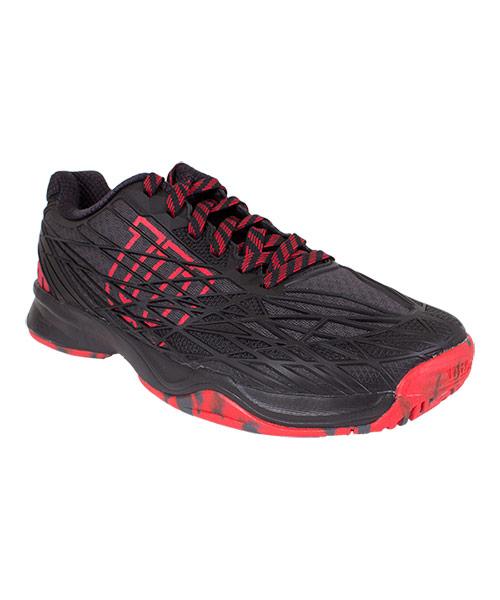 Padel shoes Wilson Kaos Black Red