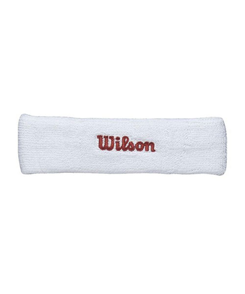 WHITE HEAD BAND WILSON WITH OGO