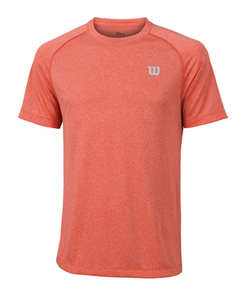 WILSON CORE CREW CORAL GREY SHIRT
