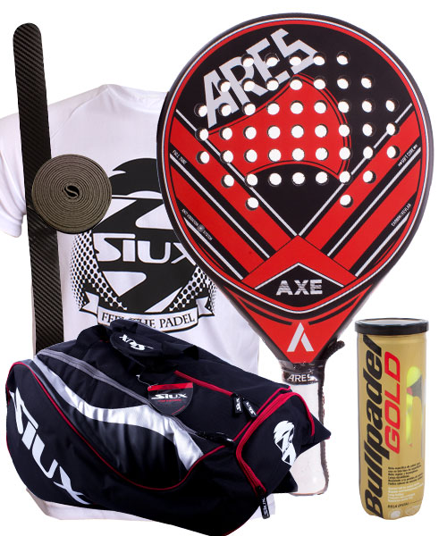 PACK ARES AXE AND SIUX MASTERCOMBI PADEL BAG