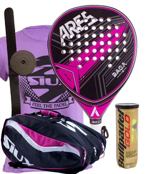 PACK ARES DAGA AND SIUX SX SPARTAN PADEL BAG