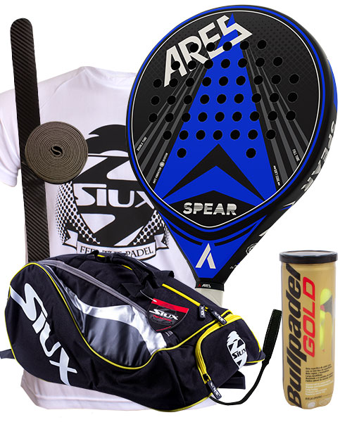 PACK ARES SPEAR AND SIUX MASTERCOMBI PADEL BAG