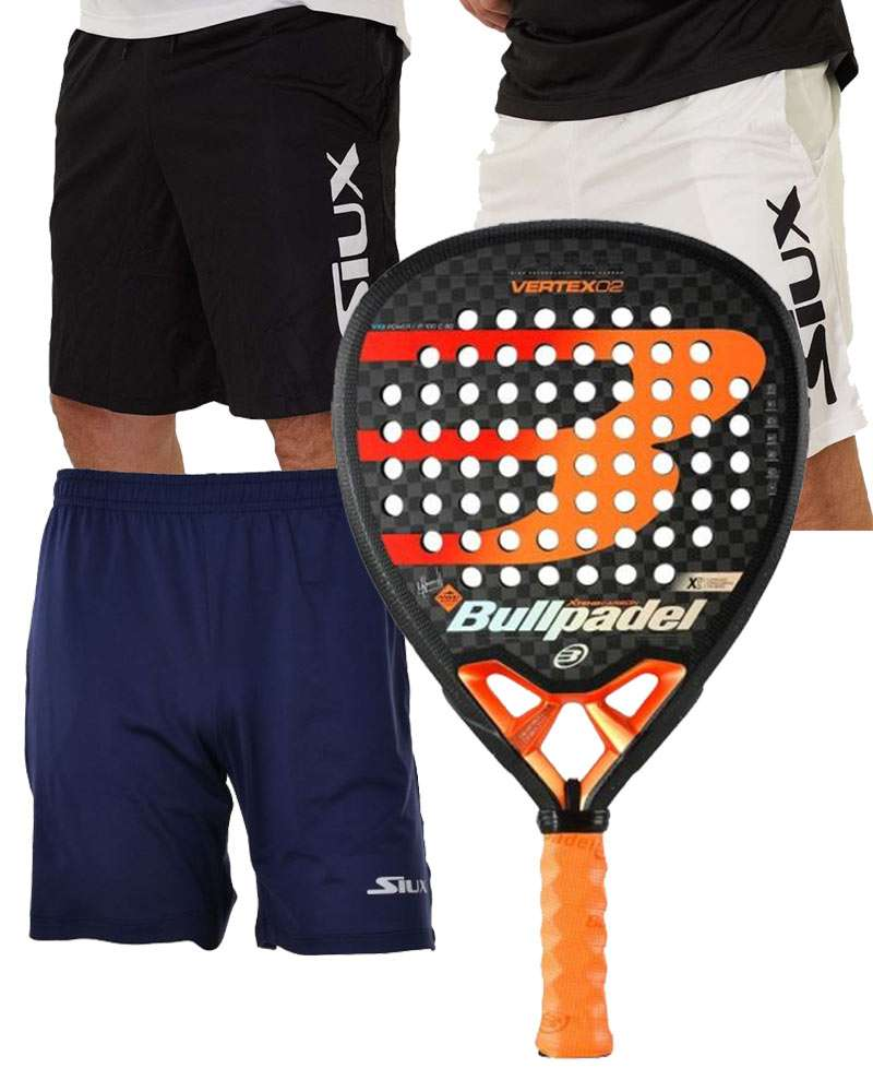 PACK BULLPADEL VERTEX 02 ET SHORTS SIUX