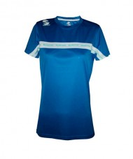 CAMISETA PADEL SOFTEE CLUB MUJER ROYAL BLANCO