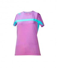 T-SHIRT PADEL SOFTEE CLUB WOMAN VIOLET GREEN