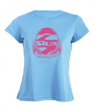 T-SHIRT SIUX WOMAN TRAINING SKY BLUE