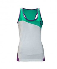 SOFTEE HYDRA WOMEN WHITE SKY BLUE PURPLE TANK TOP