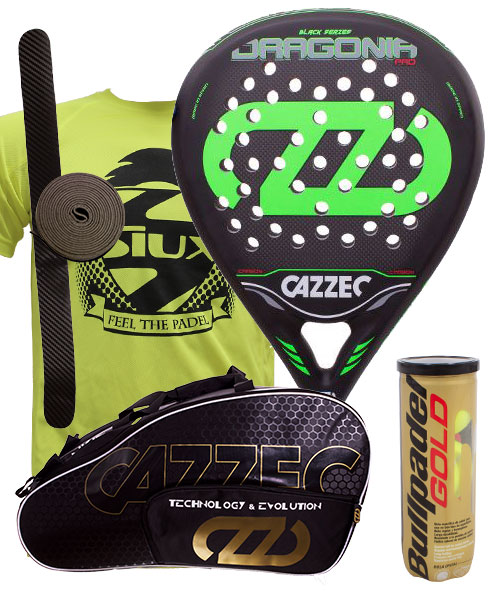PACK CAZZEC DRAGONIA AND CAZZEC CERNOK PADEL BAG