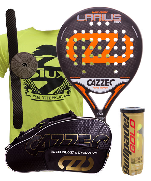 PACK CAZZEC LARIUS PRO AND CAZZEC CERNOK PADEL BAG