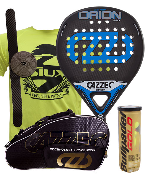 PACK CAZZEC ORION PRO AND CAZZEC CERNOK PADEL BAG