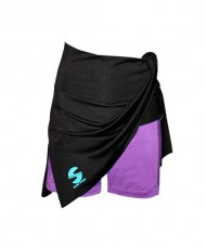 SKIRT SOFTEE CLUB BLACK VIOLET