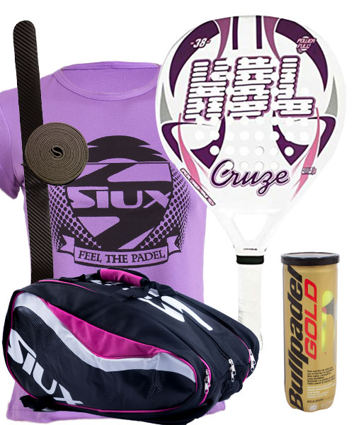 PACK HBL CRUZE AND SIUX SX SPARTAN PADEL BAG