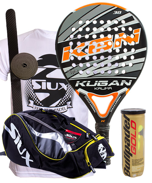 PACK KUGAN KALIMA AND SIUX MASTERCOMBI PADEL BAG