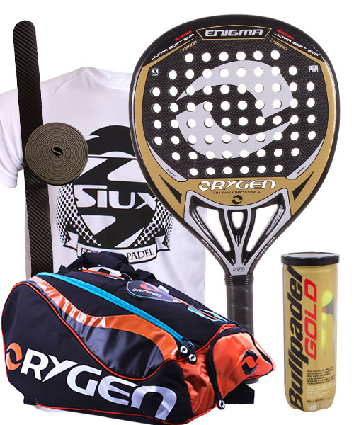 PACK ORYGEN ENIGMA AND ORYGEN BEGINNING PADEL BAG