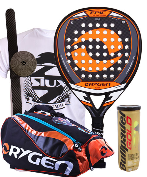 PACK ORYGEN EPIC AND ORYGEN BEGINNING PADEL BAG