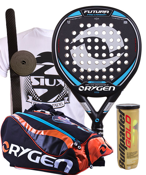 PACK ORYGEN FUTURA AND ORYGEN BEGINNING PADEL BAG