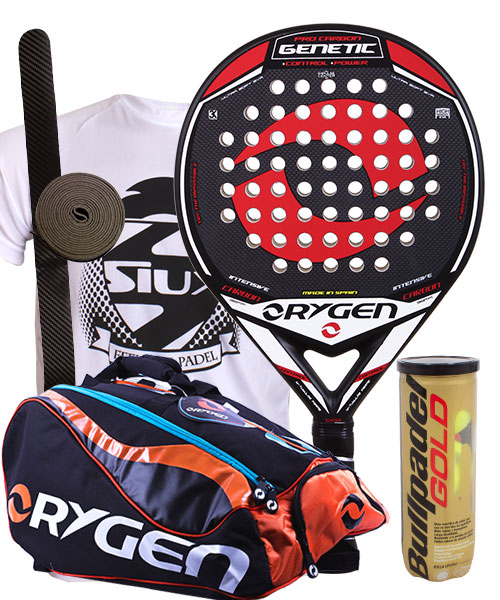 PACK ORYGEN GENETIC AND ORYGEN BEGINNING PADEL BAG